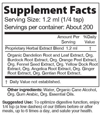 Urban Moonshine Citrus Digestive Bitters