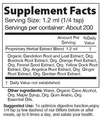 Urban Moonshine Maple Digestive Bitters